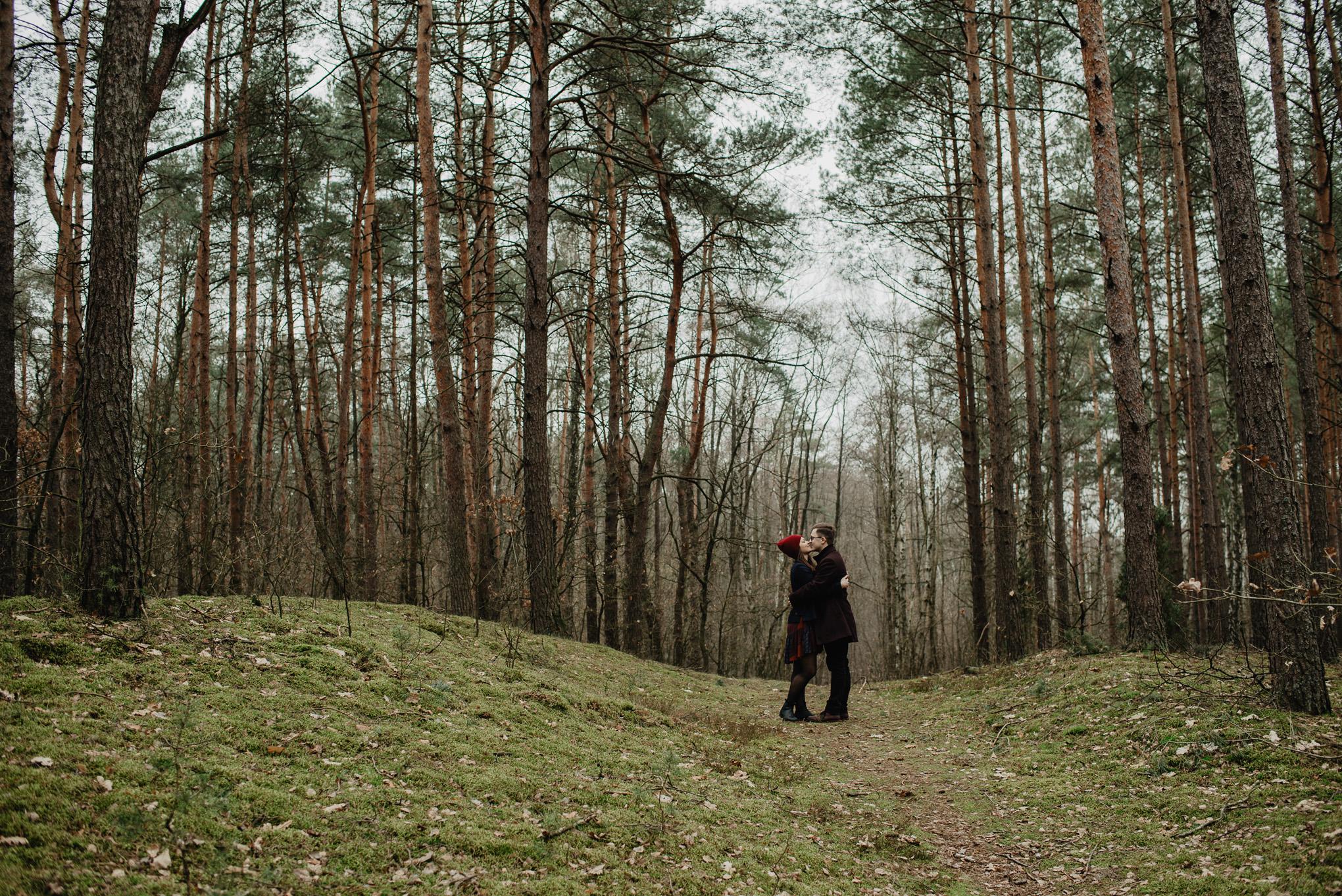 para w lesie